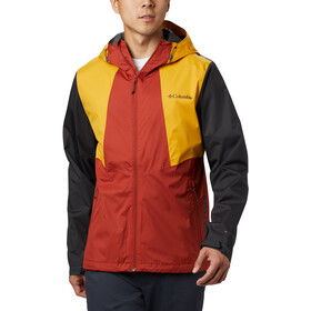 Columbia Inner Limits II Veste Homme, carnelian red/bright gold/shark